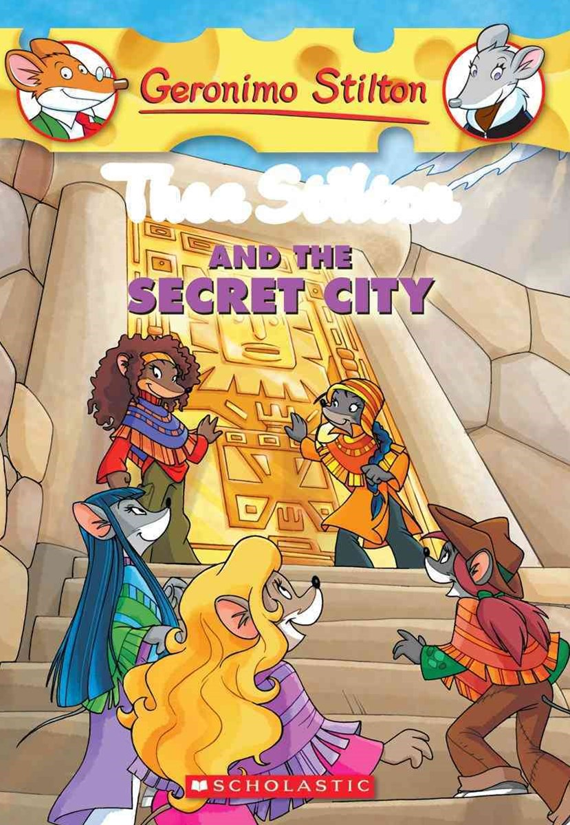 Thea Stilton: #4 Thea Stilton and the Secret City