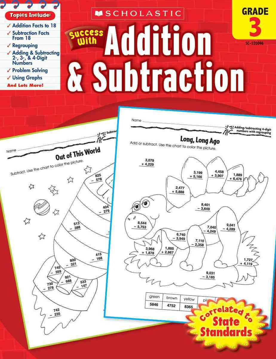 Scholastic Success with Addition and Subtraction