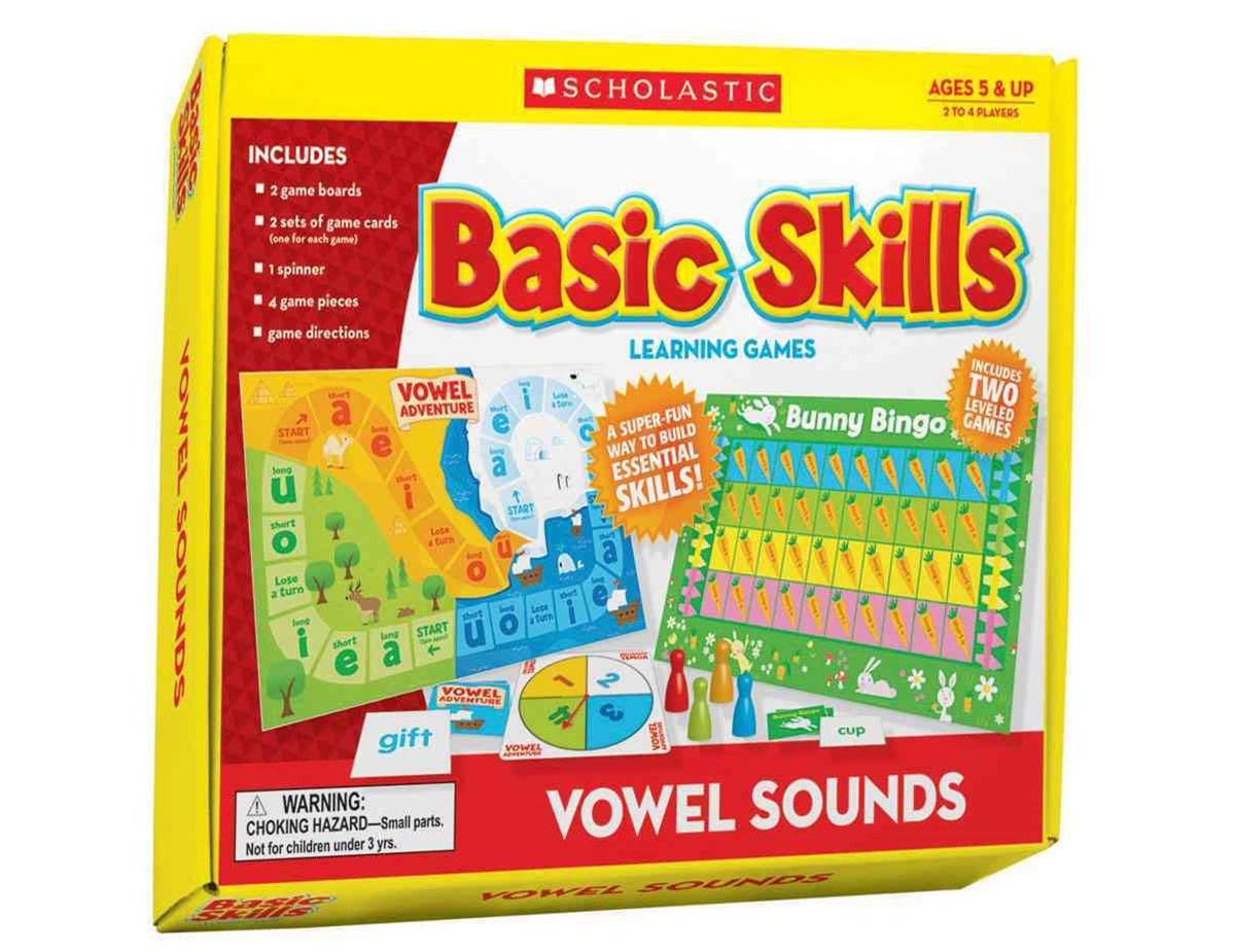 Vowel Sounds Basic Skills Learning Games