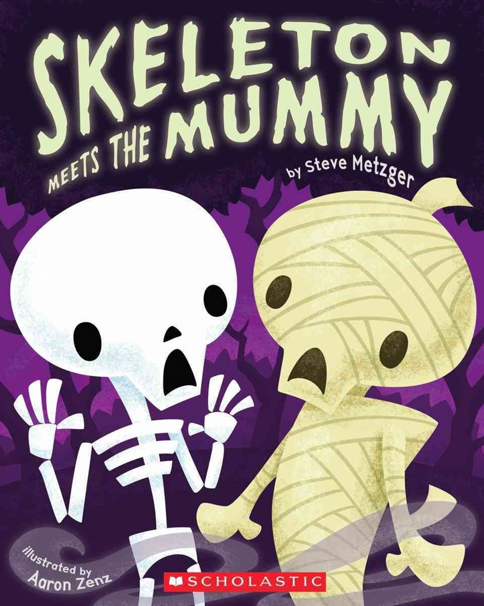 Skeleton Meets the Mummy