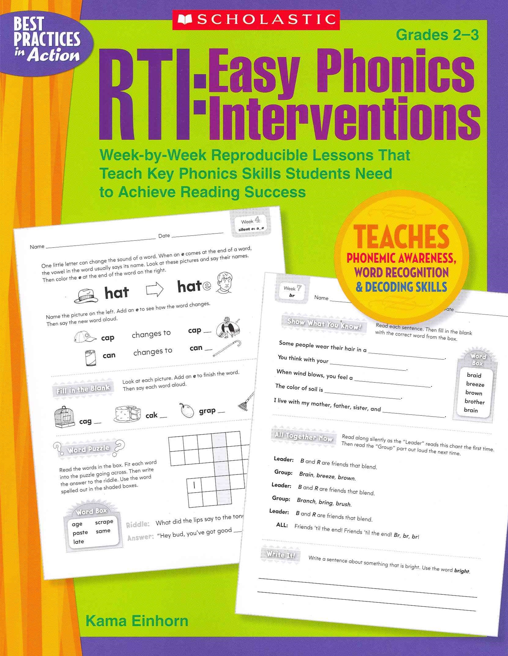RTI - Easy Phonics Interventions