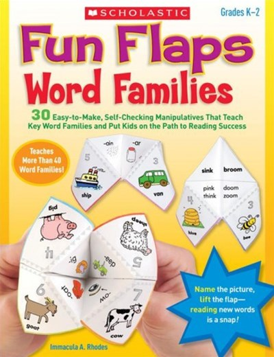 Word Families, Grades K-2