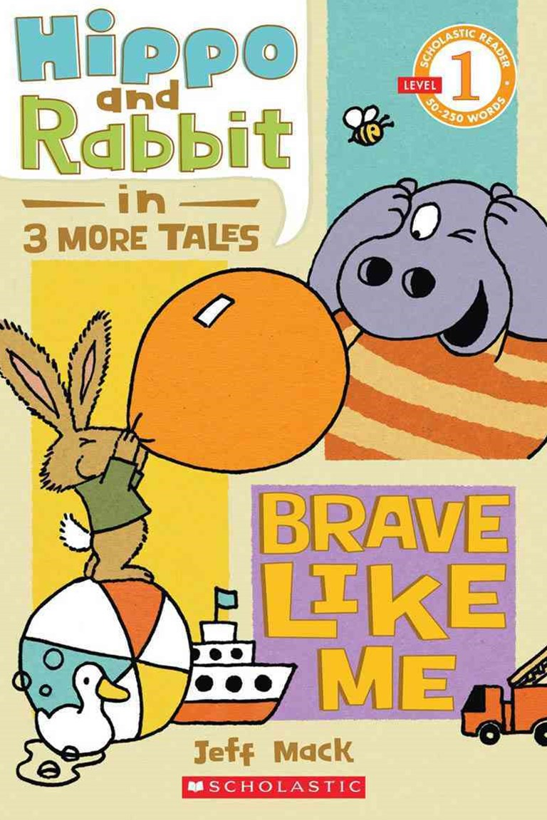 Hippo and Rabbit in Brave Like Me