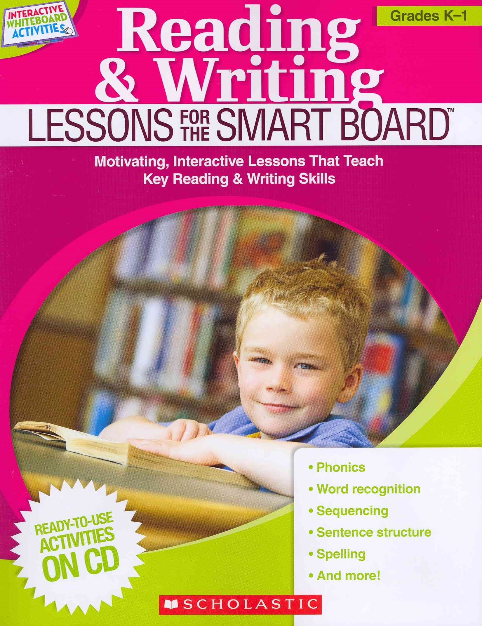 Reading and Writing Lessons for the Smart Board - Grades K-1