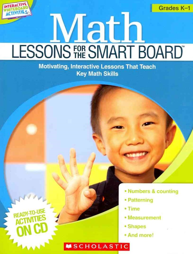 Math Lessons for the Smart Board - Grades K-1