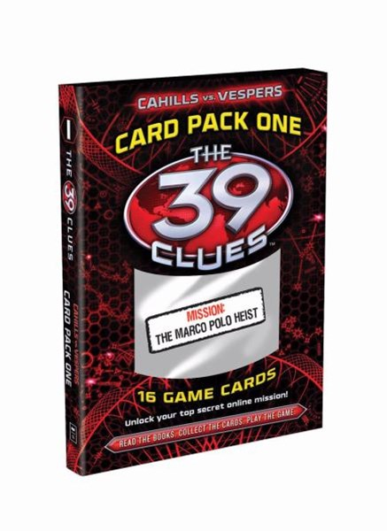 39 Clues Cahills vs Vespers Card Pack: #1 Marco Polo Heist