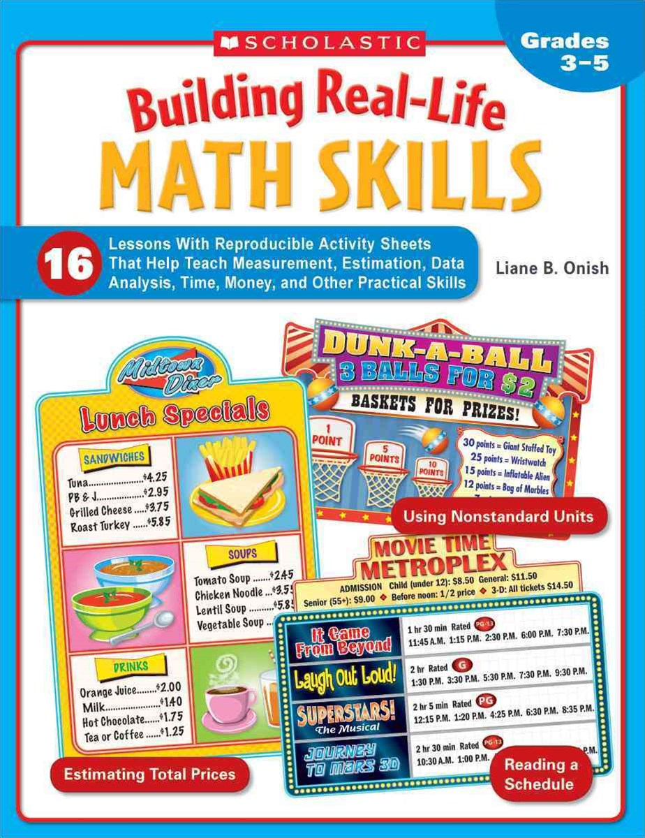 Building Real-Life Math Skills, Grades 3-5