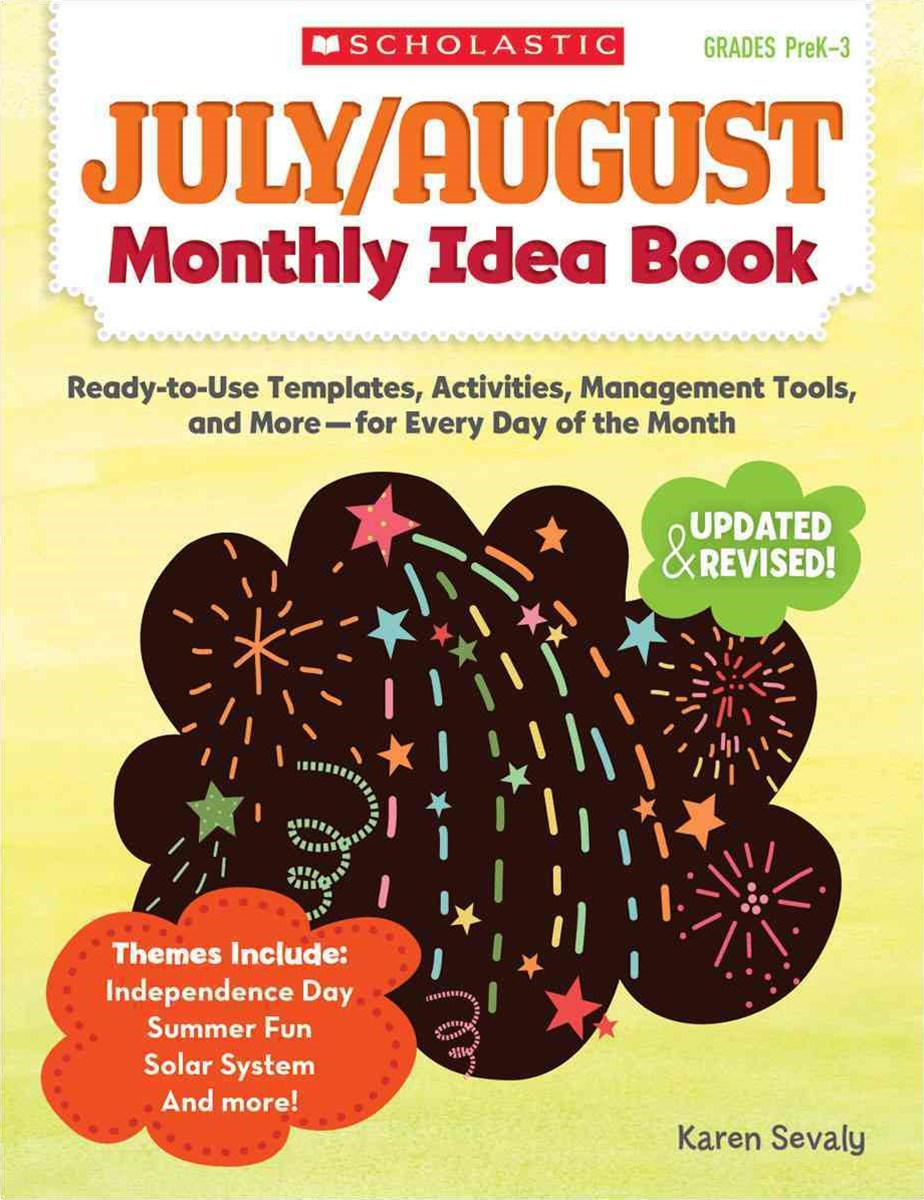 July and August Monthly Idea Book