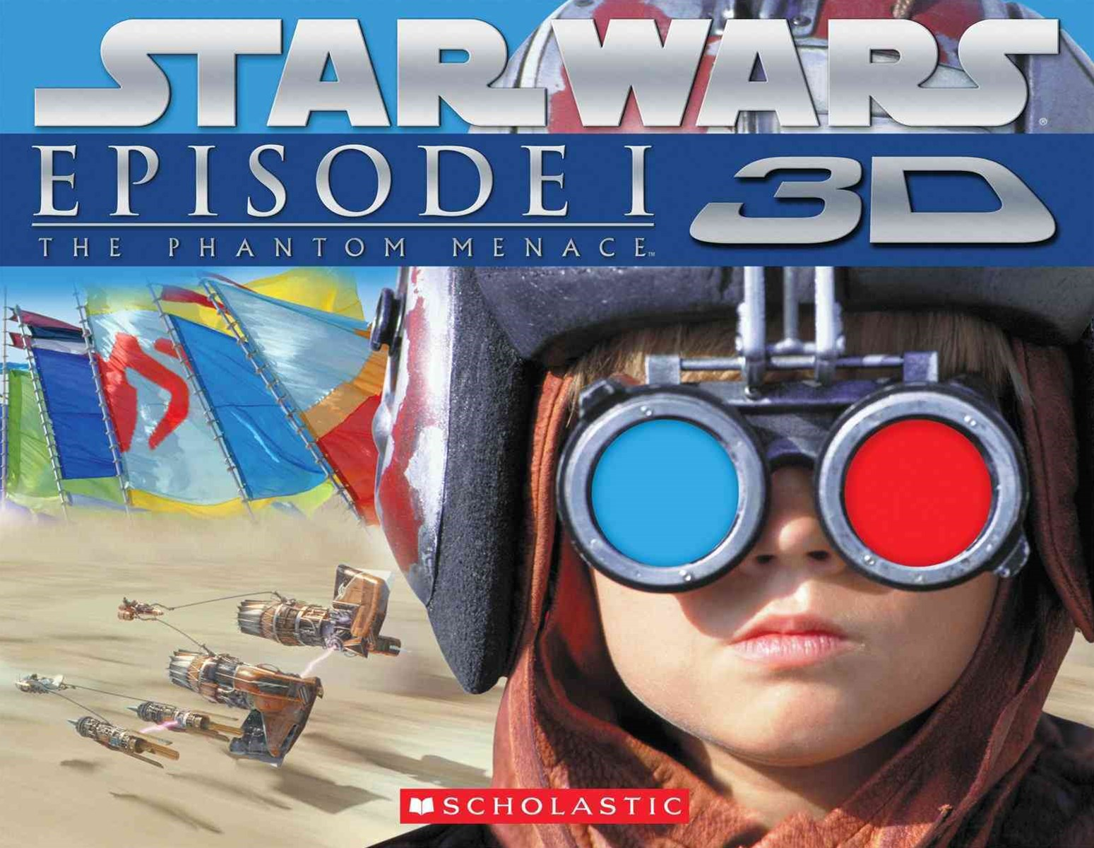 Star Wars: Phantom Menace 3D Storybook
