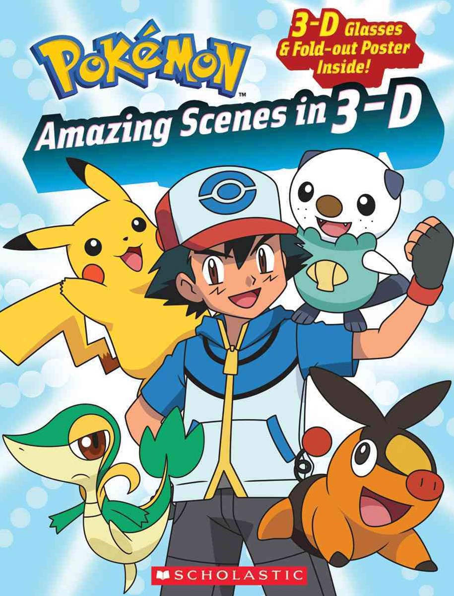 Pokemon Amazing Scenes in 3-D