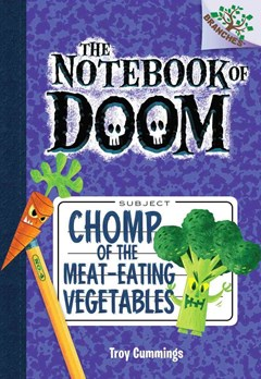 Notebook of Doom: #4 Chomp of the Meat-Eating Vegetables