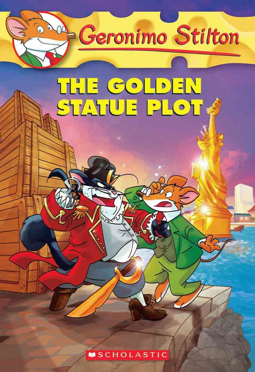 Geronimo Stilton: #55 Golden Statue Plot