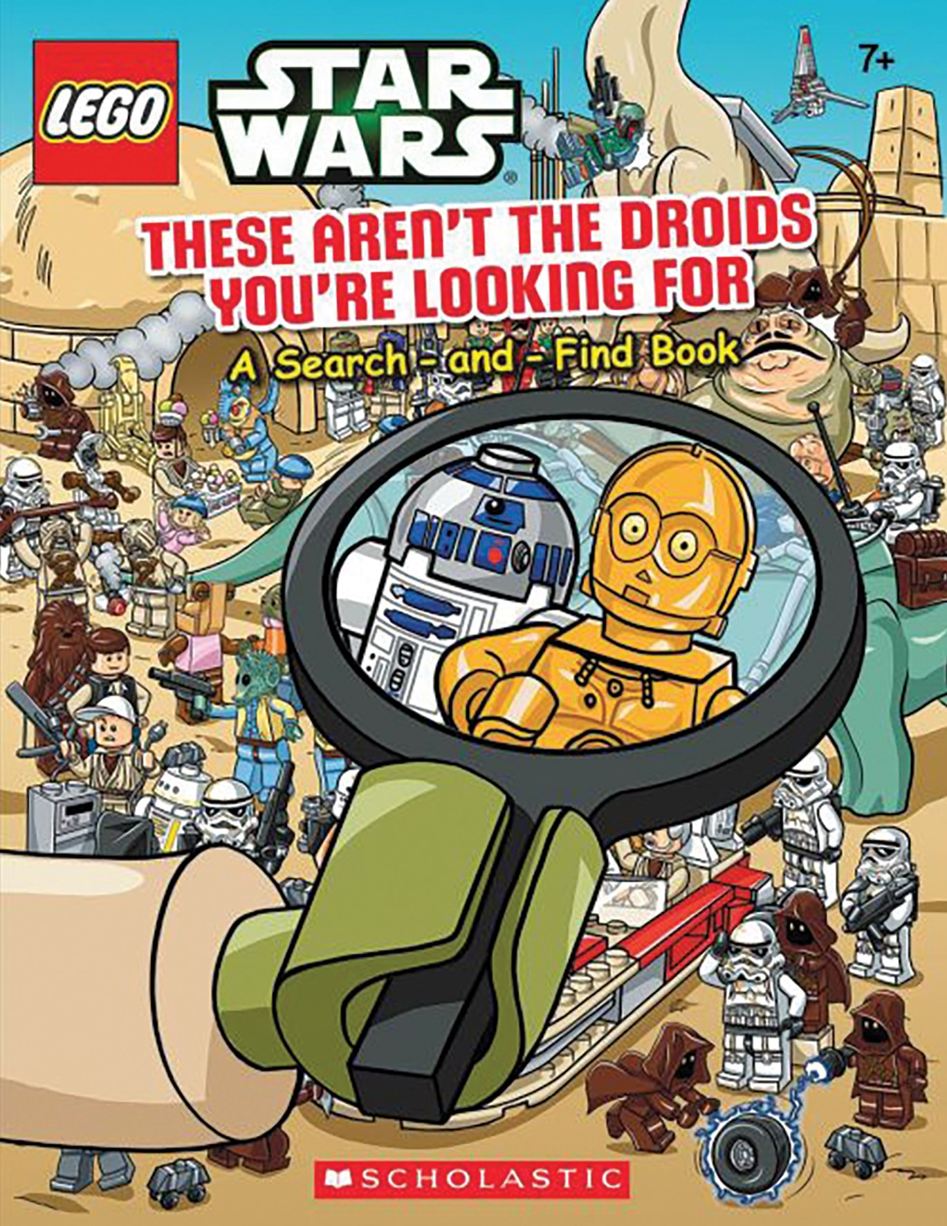 LEGO Star Wars: These Aren't the Droids You're Looking For: A Search-and-Find Book