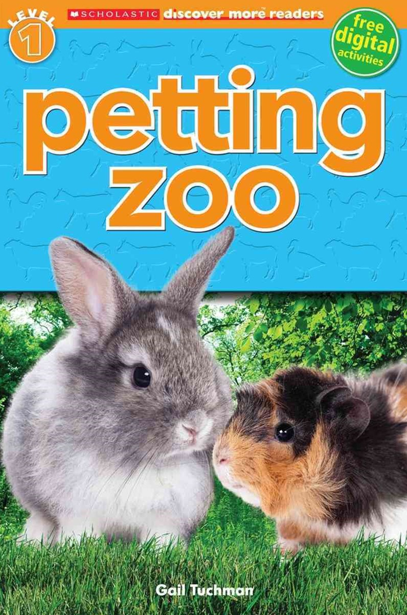 Scholastic Discover More Reader Level 1: Petting Zoo