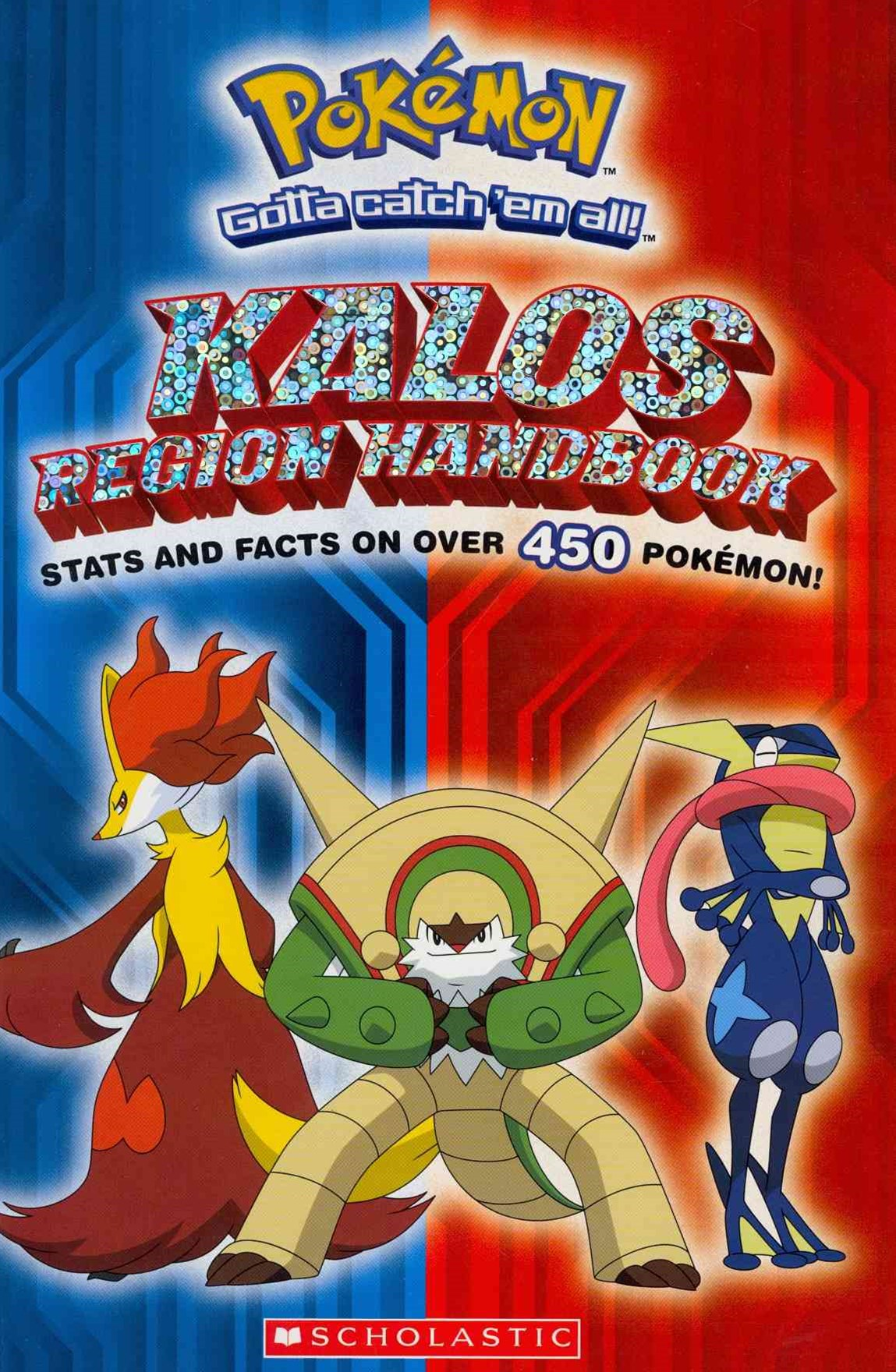 Pokemon: Kalos Region Handbook