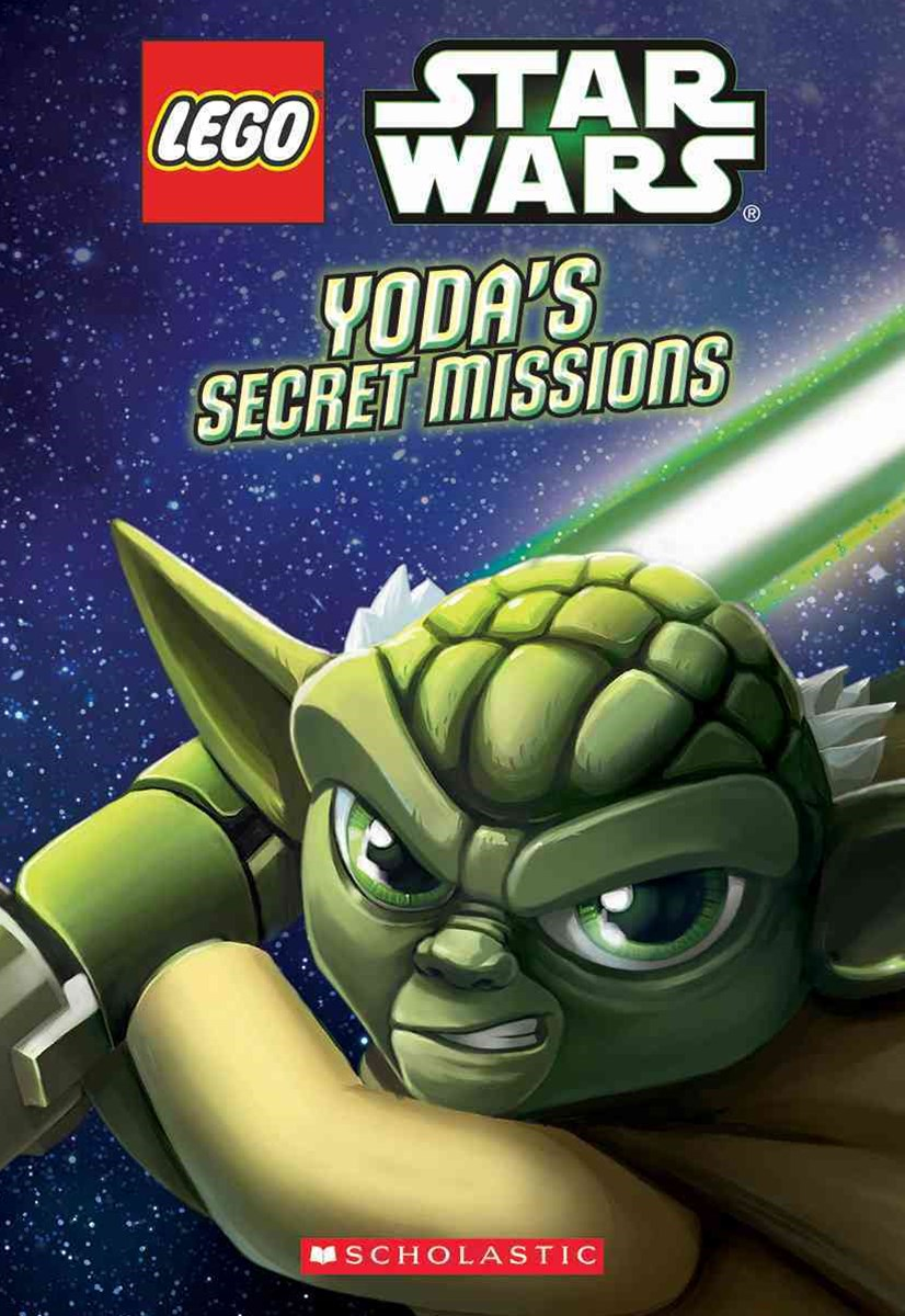 Lego Star Wars: #1 Yoda's Secret Mission Chapter Book No Level