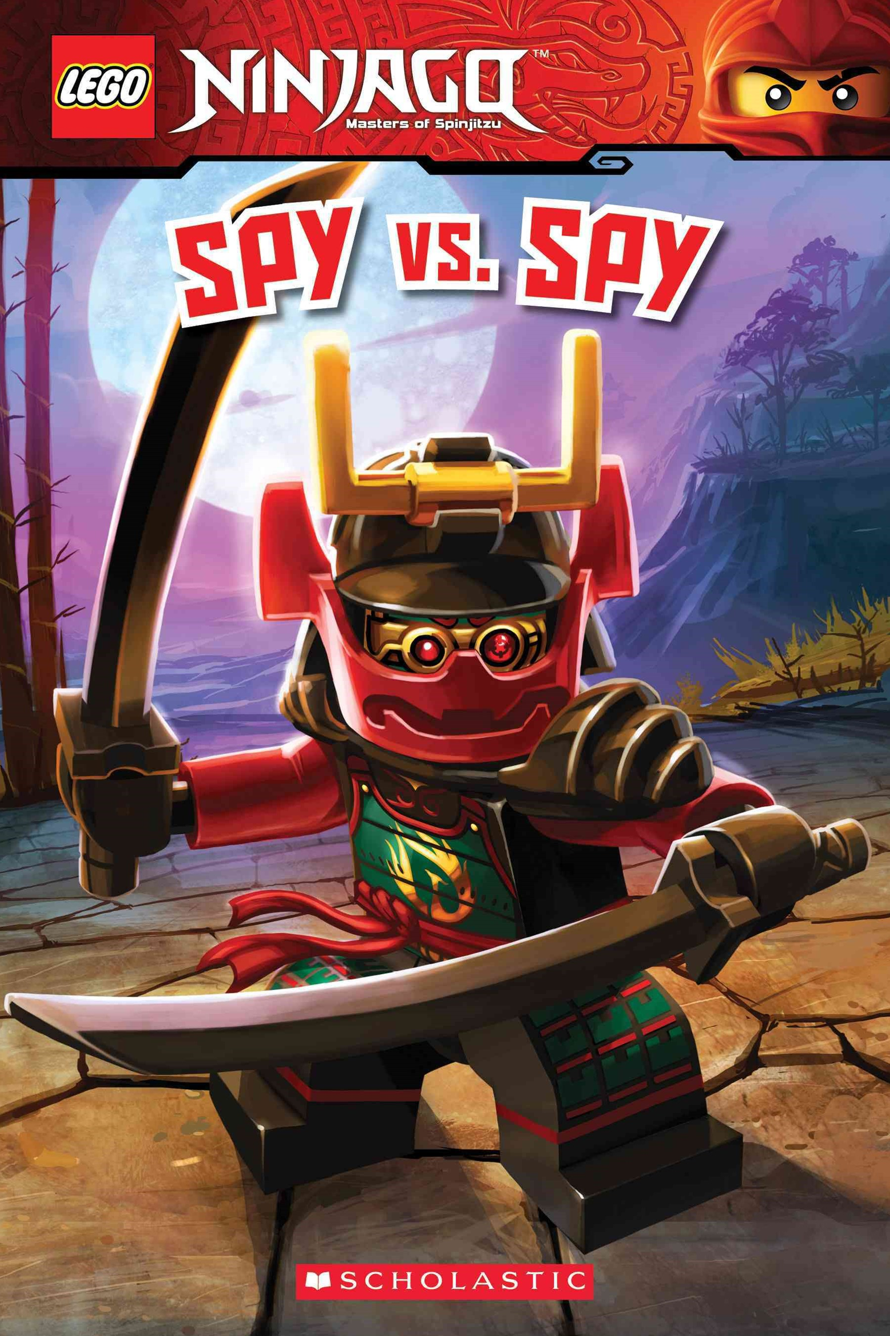 Lego Ninjago Reader #13: Spy vs Spy No Level