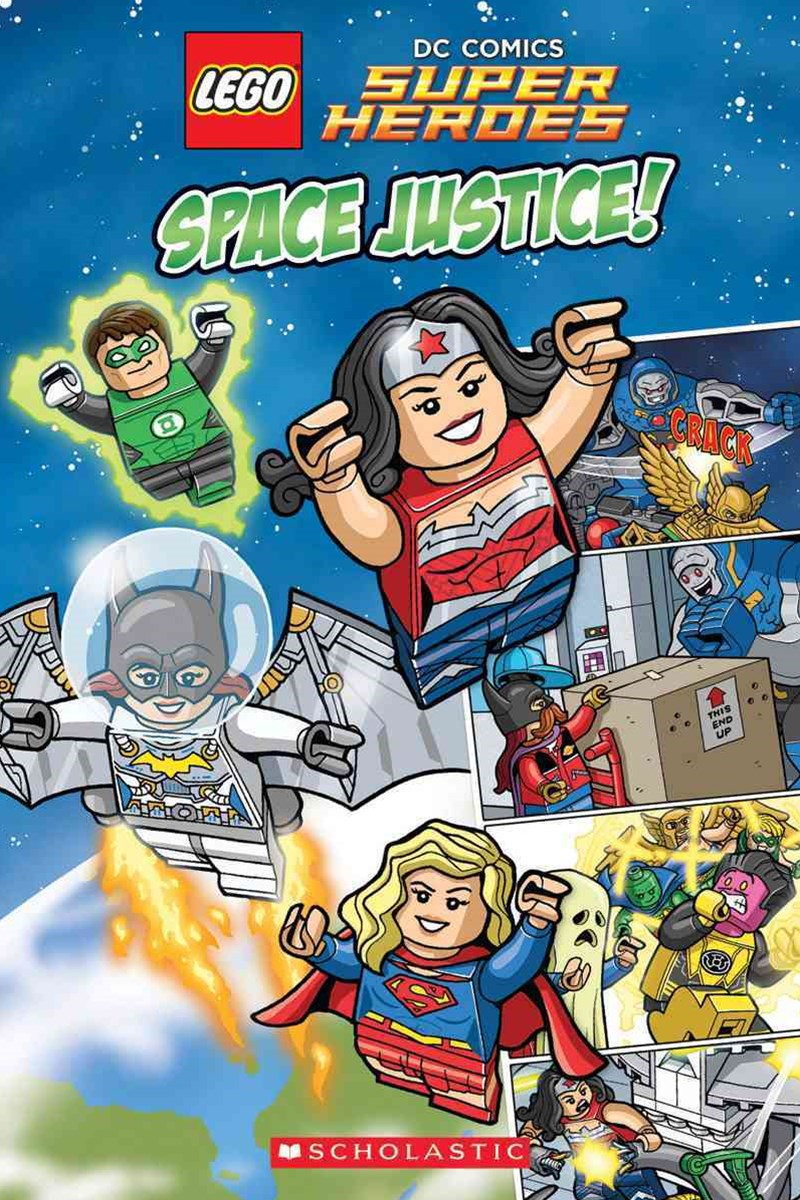 Lego DC Super Heroes: Space Justice! No Level