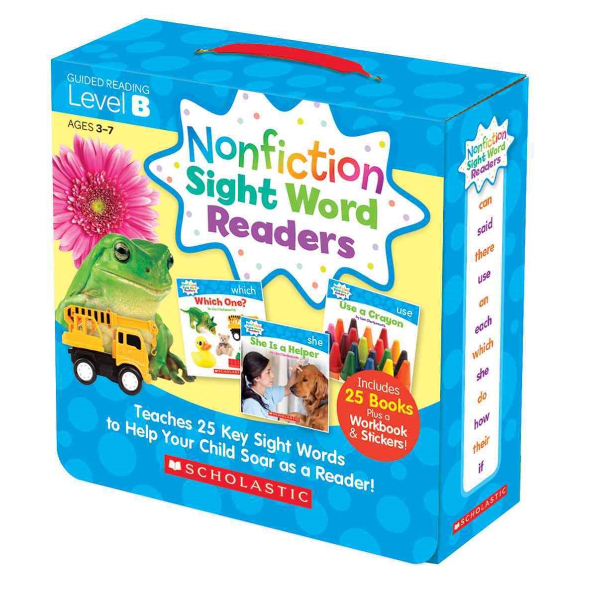Nonfiction Sight Word Readers Parent Pack 2