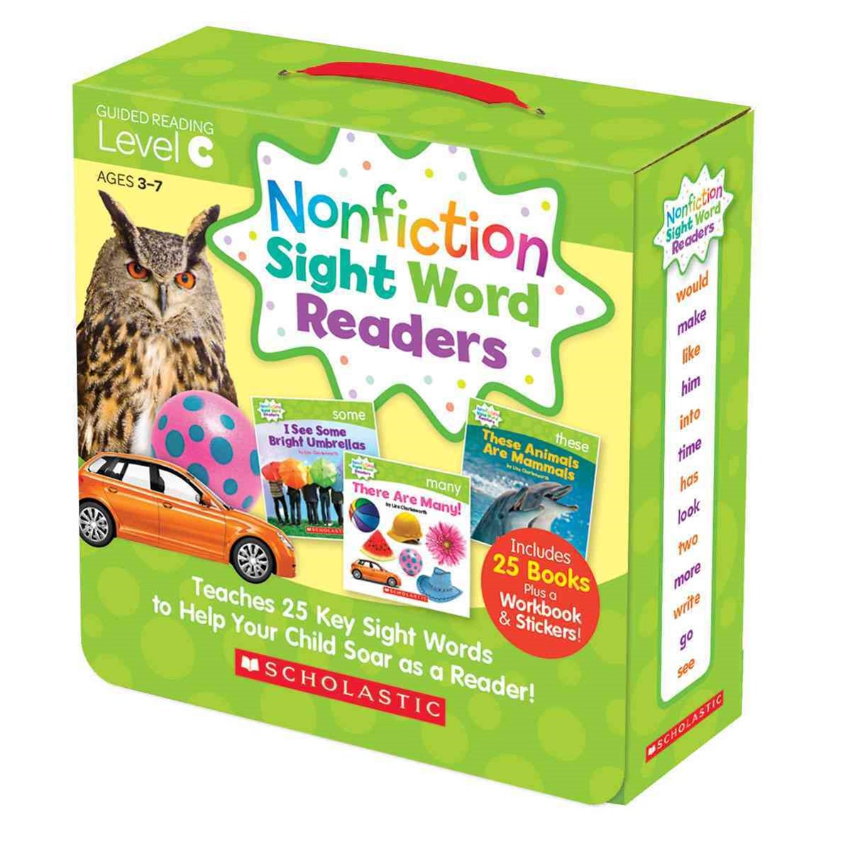 Nonfiction Sight Word Readers Parent Pack 3