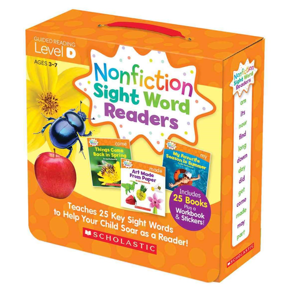 Nonfiction Sight Word Readers Parent Pack 4