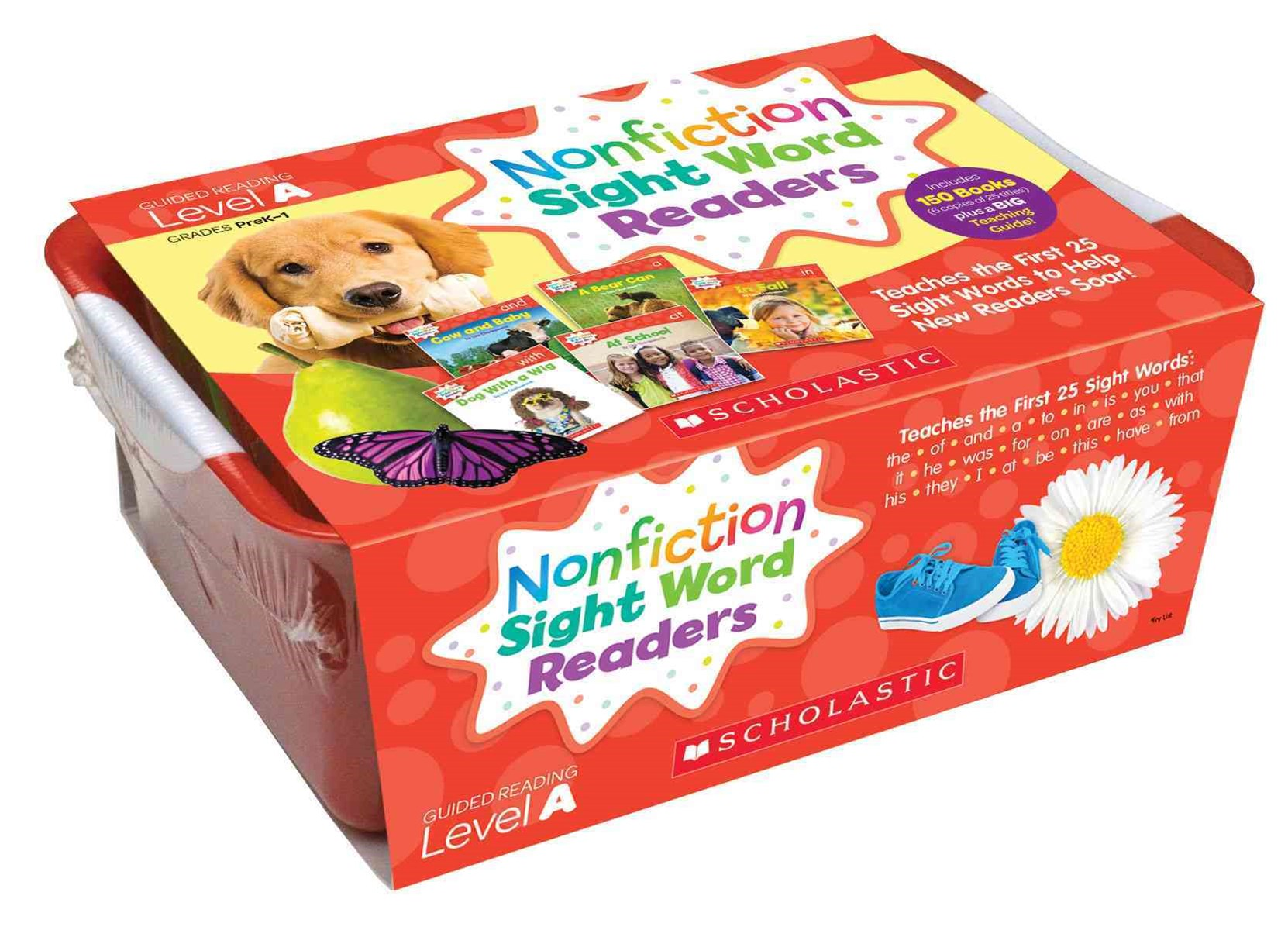 Nonfiction Sight Word Readers Classroom Tub 1