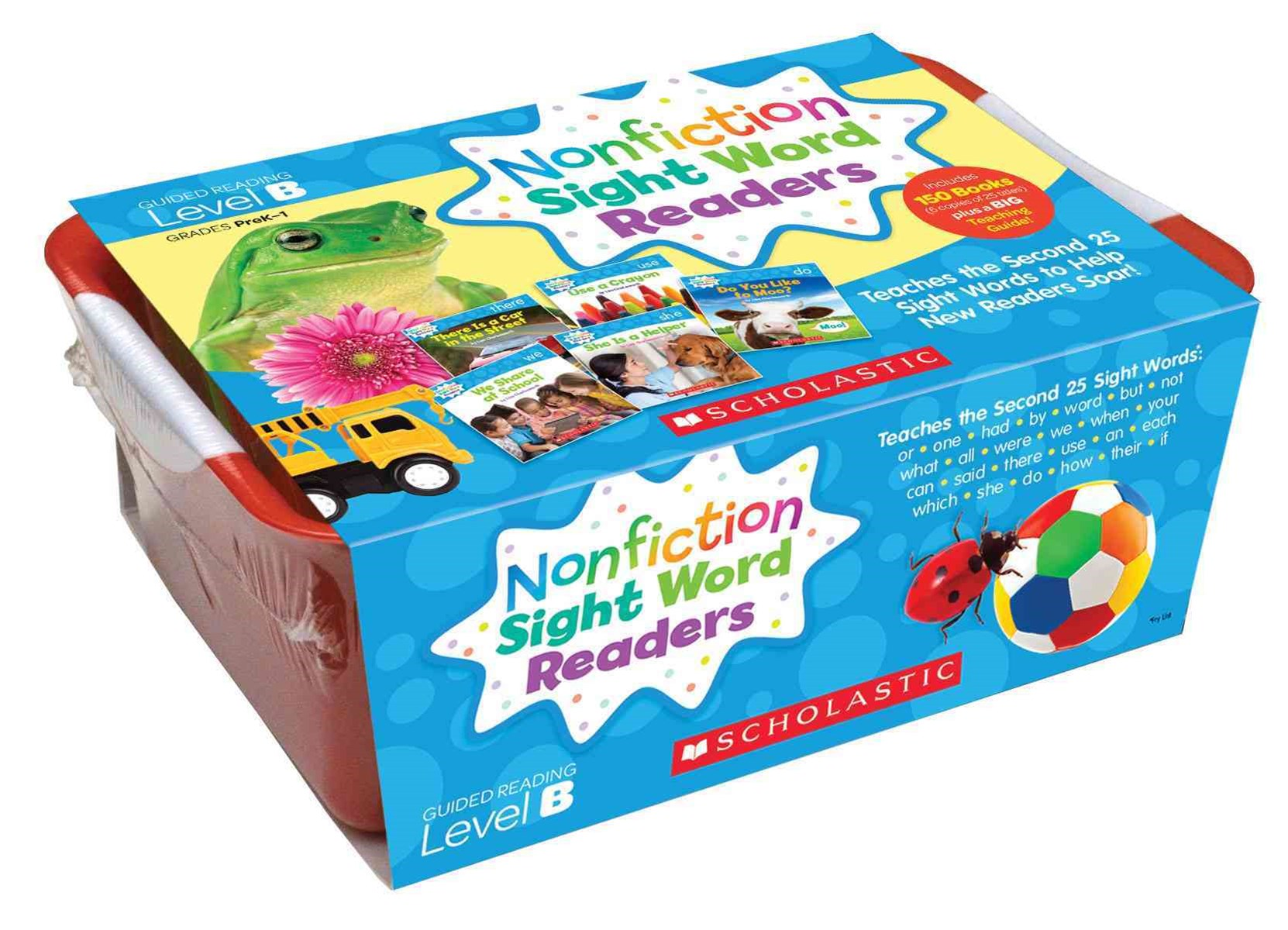 Nonfiction Sight Word Readers Classroom Tub 2