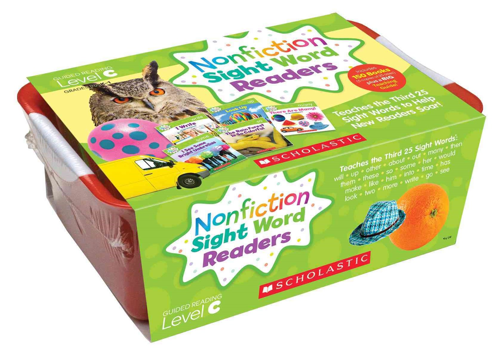 Nonfiction Sight Word Readers Classroom Tub 3