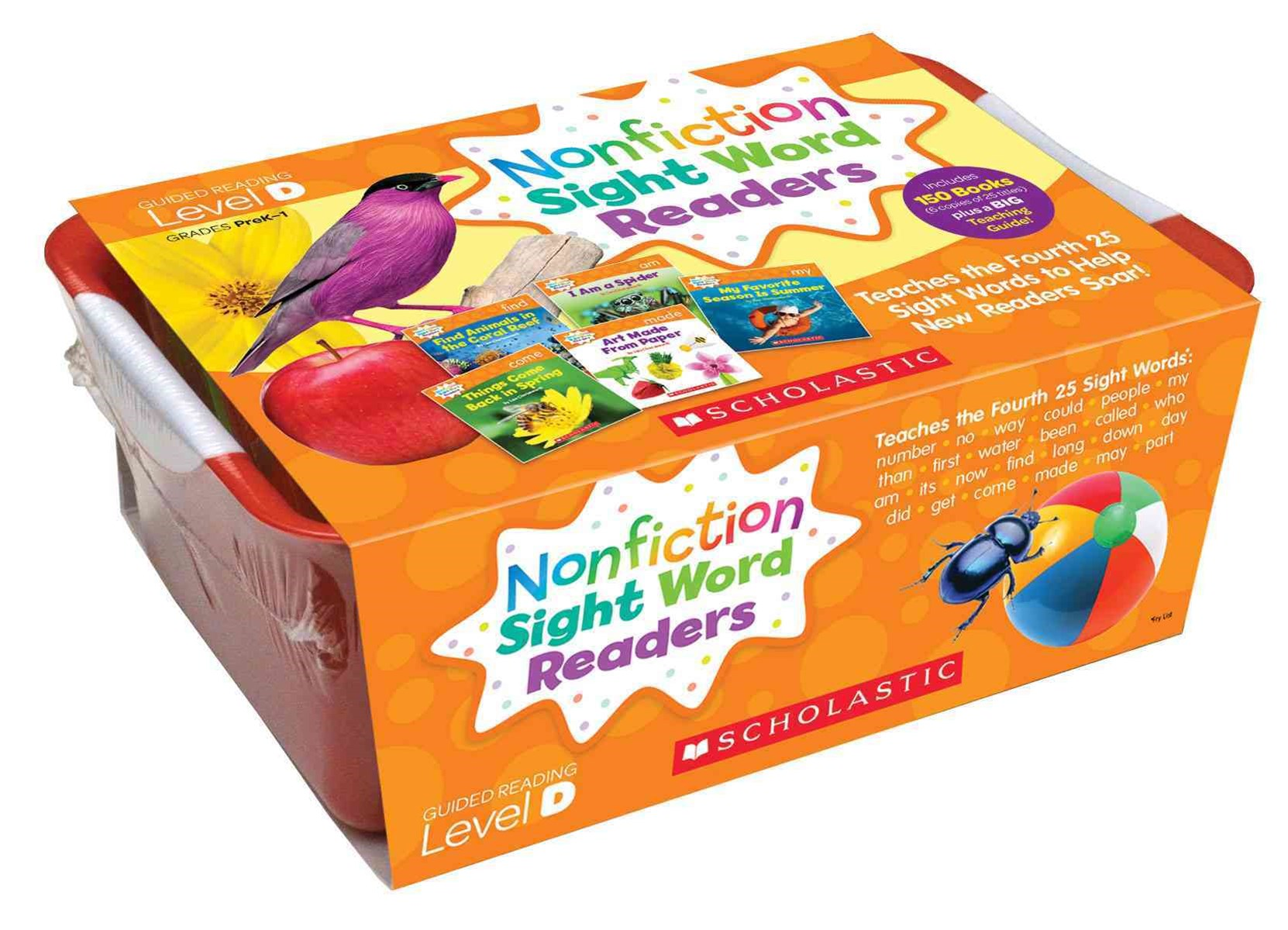 Nonfiction Sight Word Readers Classroom Tub 4