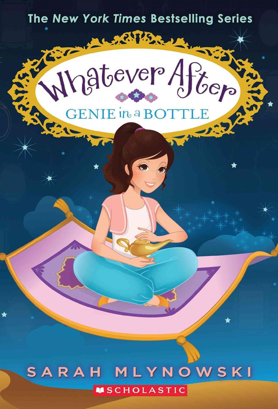 Genie in a Bottle (Whatever After #9)