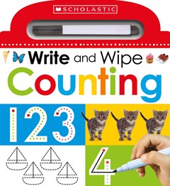 Write and Wipe Early Math 123