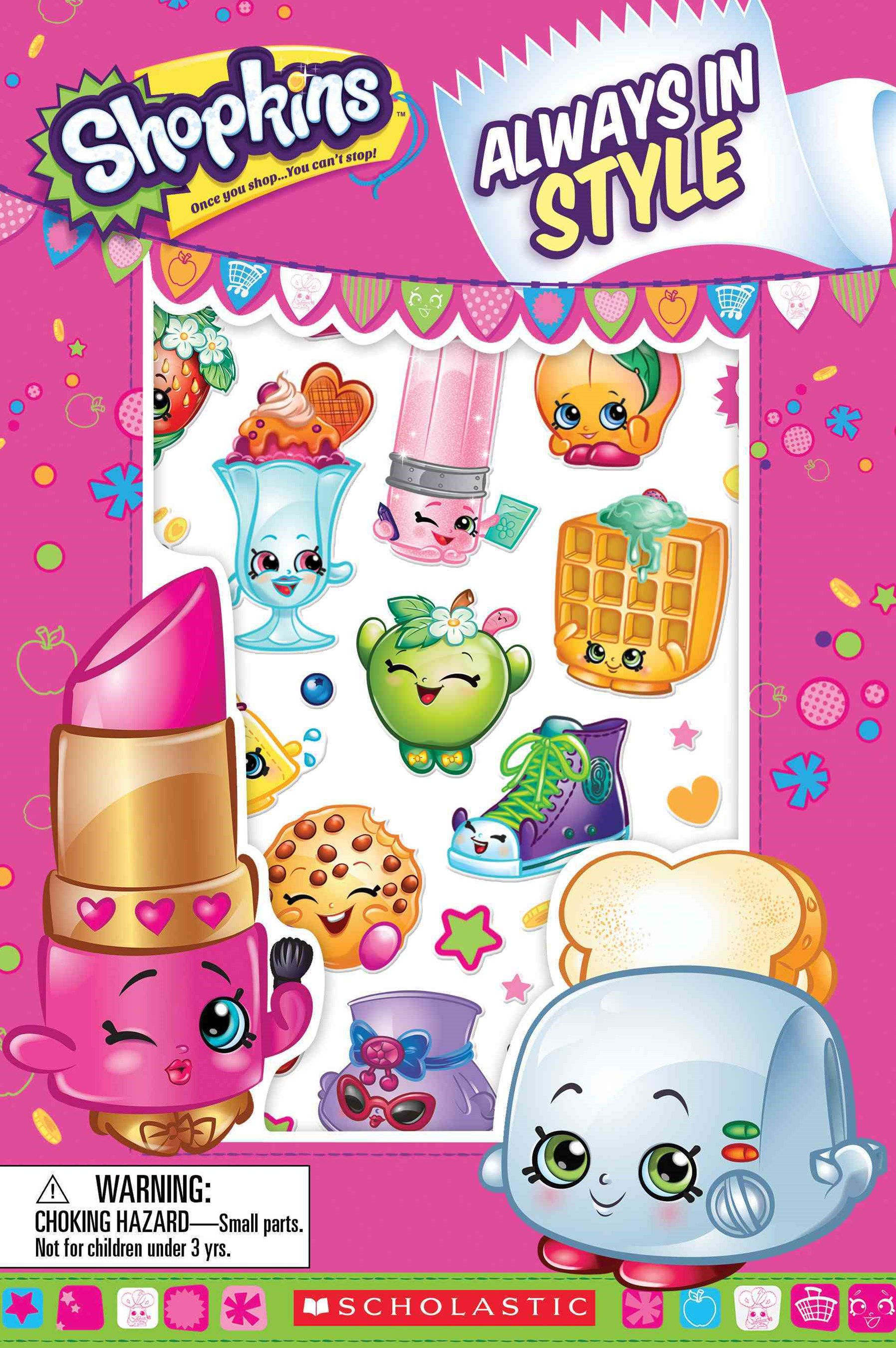 Shopkins Always in Style Comic Stories #1 with Stickers