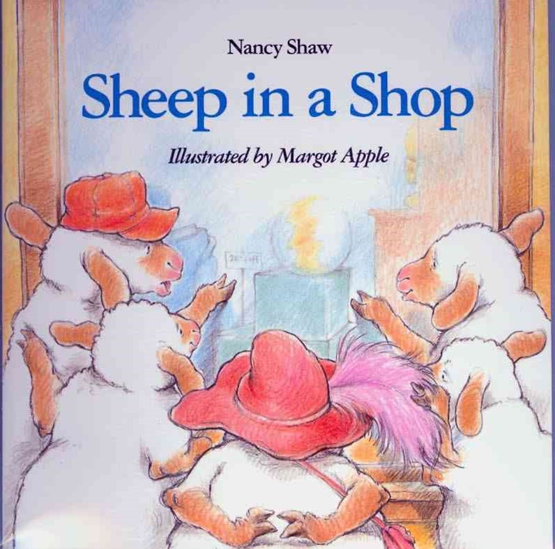 Sheep in a Shop Book & Cd