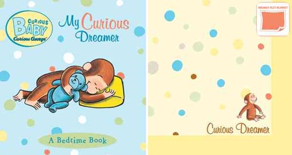 Curious Baby My Curious Dreamer Gift Set (curious George Book & Blankie)