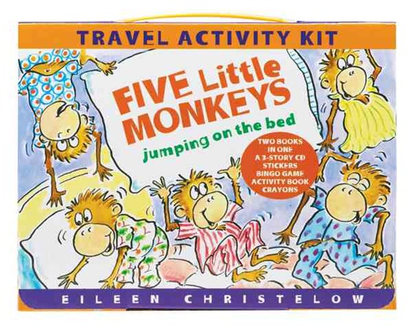 Five Little Monkeys Travel Activity Kit