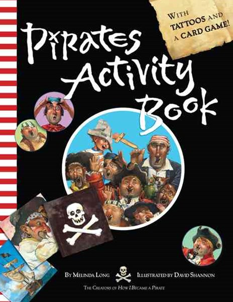 Pirates Activity Book