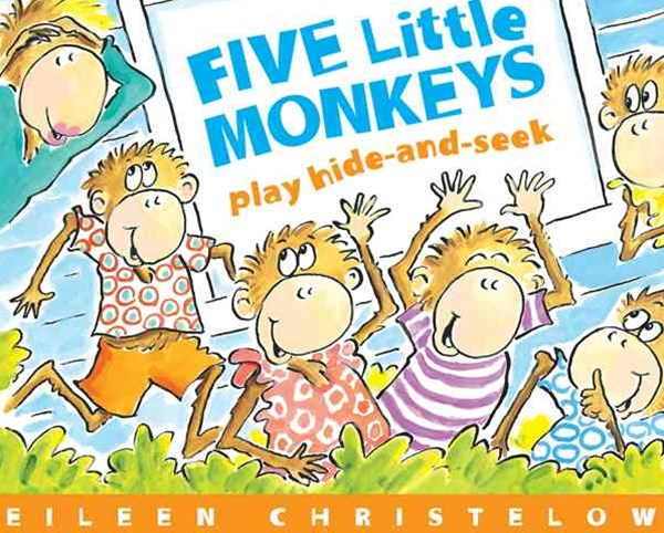 Five Little Monkeys Play Hide and Seek