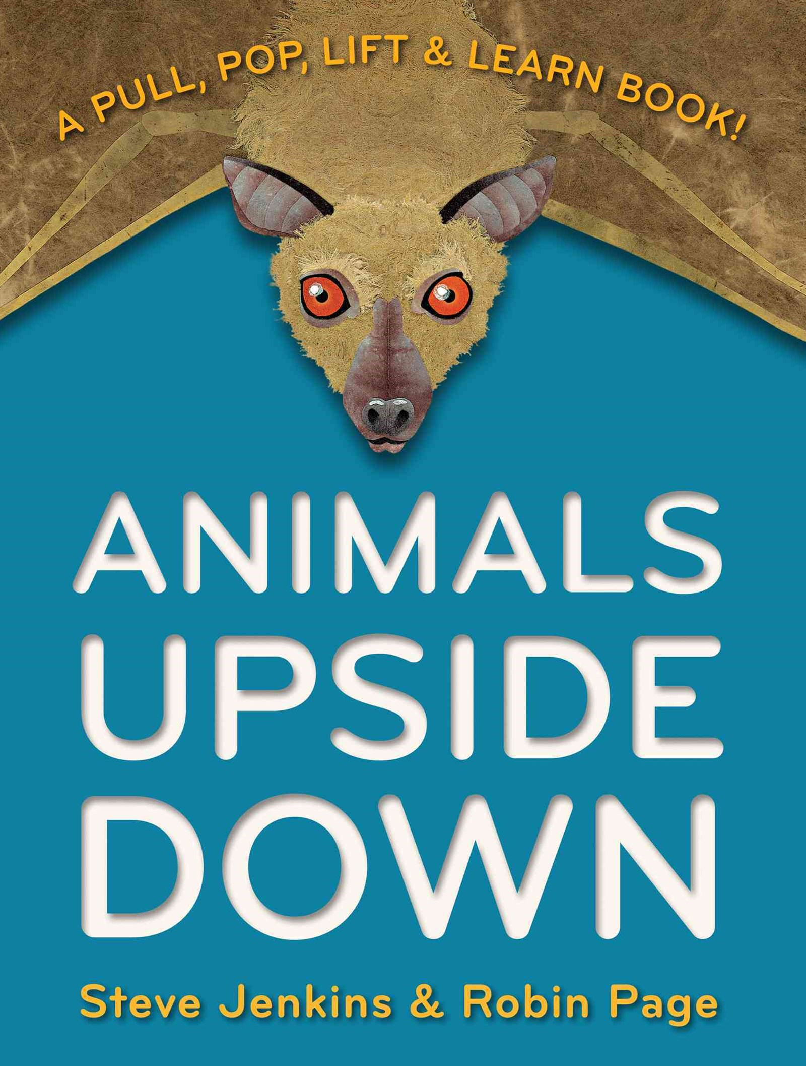 Animals Upside Down: A Pull, Pop, Lift and Learn Book!