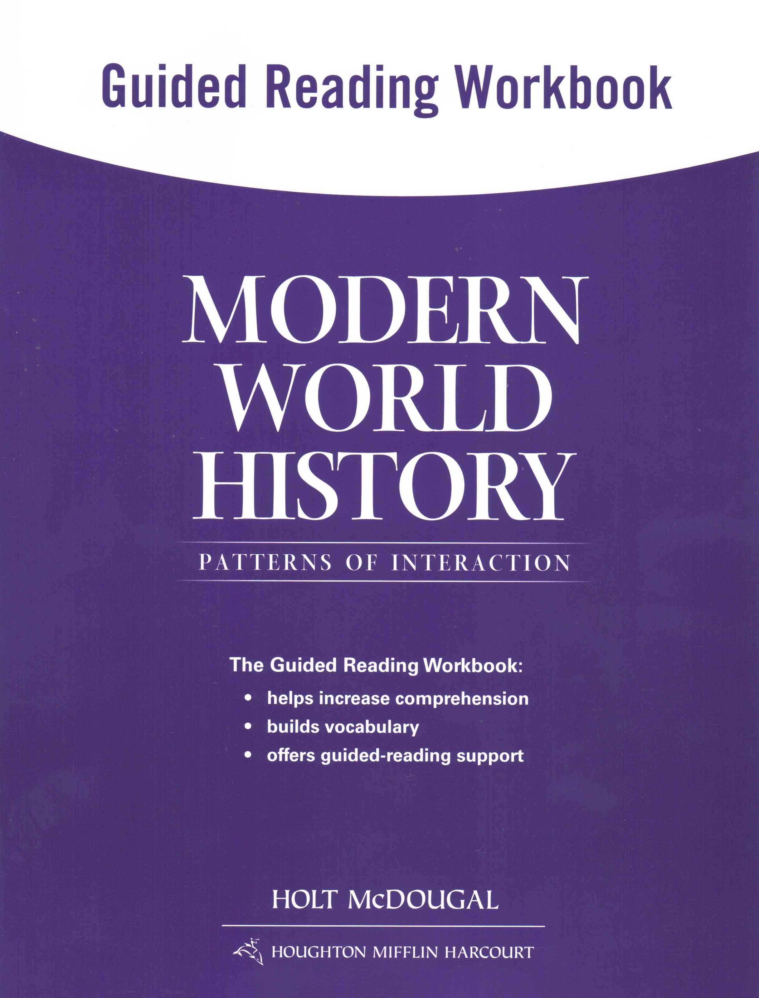 Holt McDougal World History - Patterns of Interaction