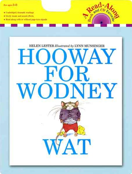 Hooway for Wodney Wat: Book and CD