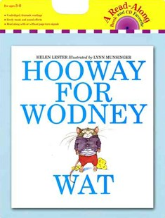 Hooway for Wodney Wat: Book and CD by LESTER HELEN, Lynn Munsinger (9780547552170) - PaperBack - Children's Fiction Intermediate (5-7)