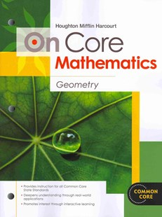 On Core Mathematics - Geometry by Houghton Mifflin Publishing (9780547575308) - PaperBack - Non-Fiction