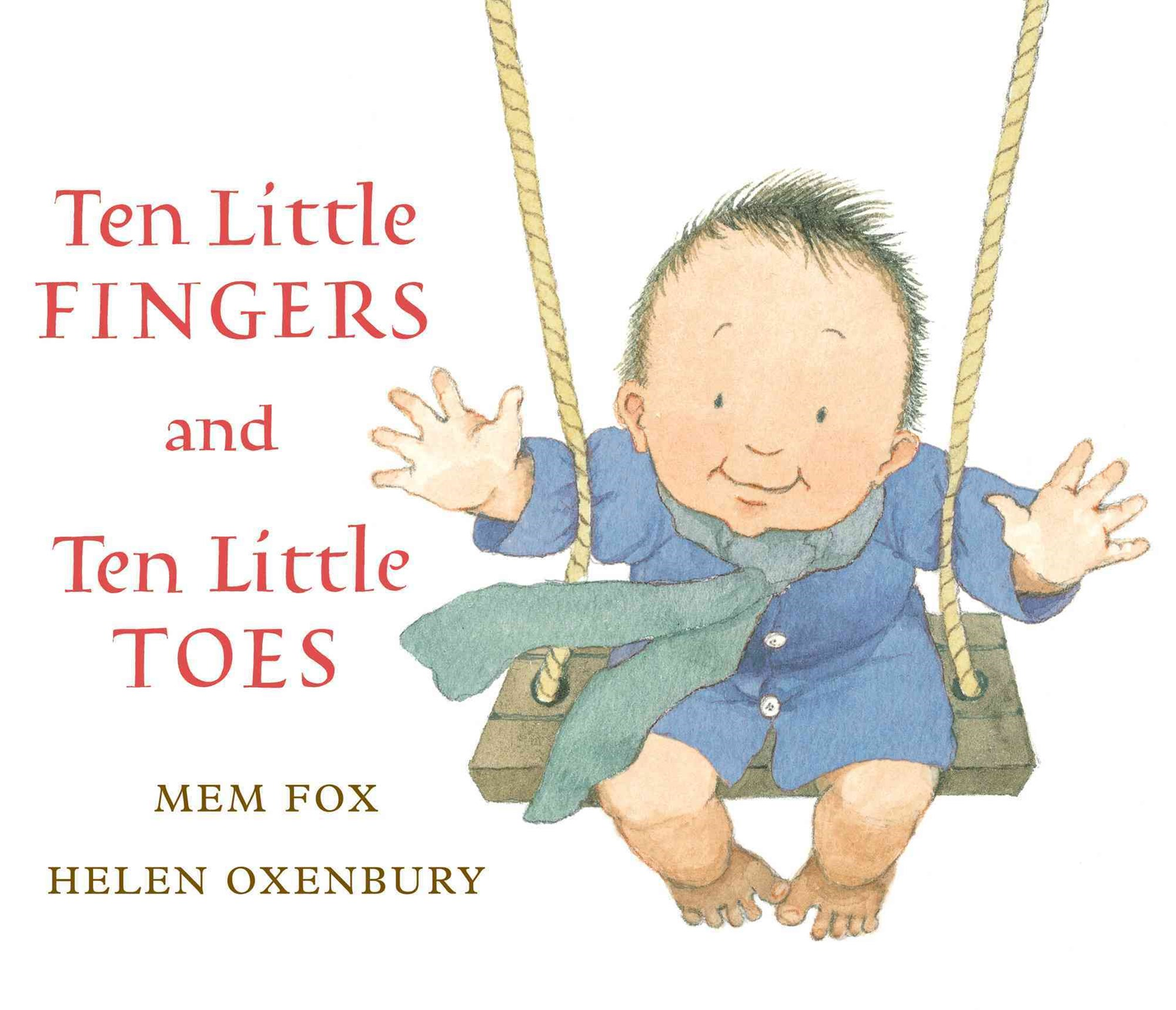 Ten Little Fingers and Ten Little Toes  (Lap Board Book)