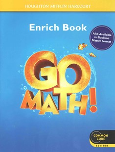 Go Math! by Houghton Mifflin Harcourt (9780547588179) - PaperBack - Non-Fiction