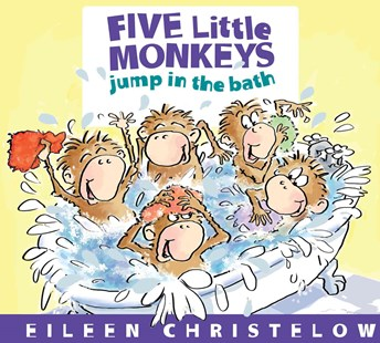 Five Little Monkeys Jump in the Bath by CHRISTELOW EILEEN (9780547875279) - HardCover - Children's Fiction Early Readers (0-4)