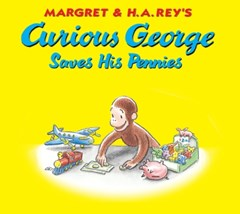 (ebook) Curious George Saves His Pennies