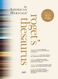American Heritage Roget's Thesaurus by HMH (9780547964065) - HardCover - Reference Dictionaries
