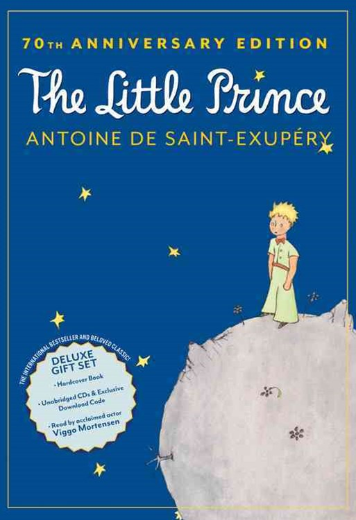 The Little Prince 70th Anniversary Gift Set (Book/CD/Downloadable Audio)