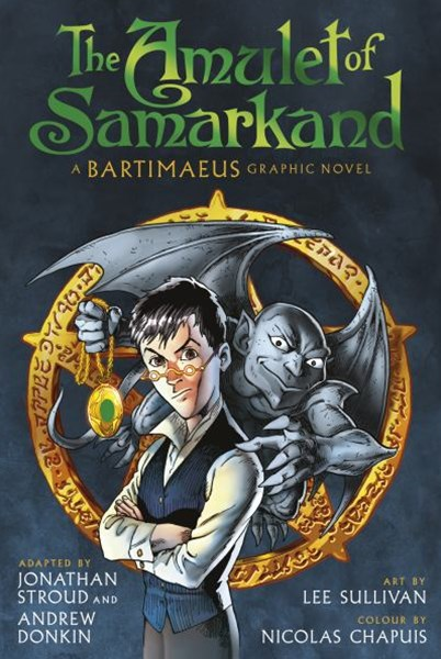 The Amulet of Samarkand Graphic Novel