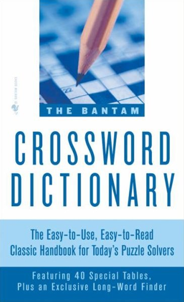 Bantam Crossword Dictionary